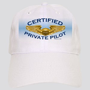 Pilot Wings (gold on blue) Cap