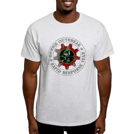 Zombie Outbreak Rapid Response Team Light T-Shirt