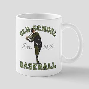 Old School Baseball Mug