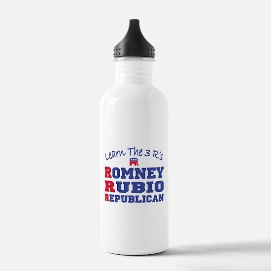 Romney Rubio Republican 2012 Water Bottle