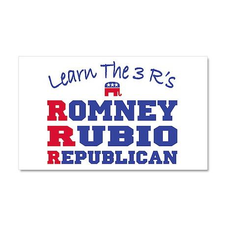 Romney Rubio Republican 2012 Car Magnet 20 x 12