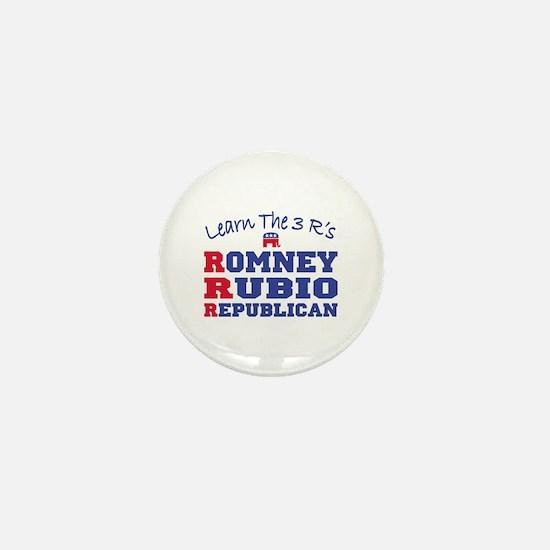 Romney Rubio Republican 2012 Mini Button