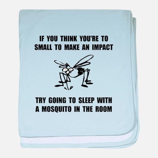 Mosquito Impact baby blanket