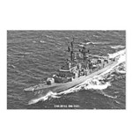 USS HULL Postcards (Package of 8)