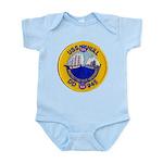 USS HULL Infant Bodysuit