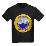 USS HULL Kids Dark T-Shirt