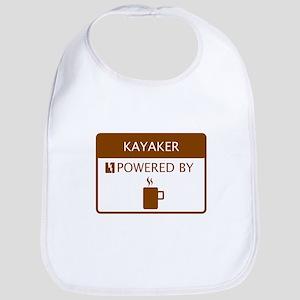 Kayaker Powered by Coffee Bib