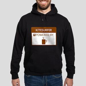Kitesurfer Powered by Coffee Hoodie (dark)