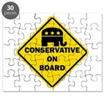 Conservative On Board Puzzle