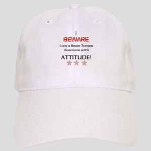 Brain Tumor Survivor with Attitude Cap