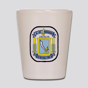 USS TATTNALL Shot Glass
