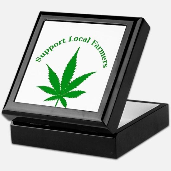 Support Local Farmers Keepsake Box
