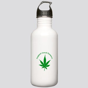 Support Local Farmers Stainless Water Bottle 1.0L