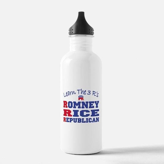 Romney Rice Republican 2012 Water Bottle