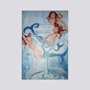 Mermaids& Martini Magnet