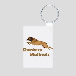 Dantero Malinois Logo - Square Aluminum Photo Keyc