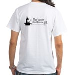 Nor'easters skeleton and Light House on back