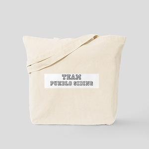 Team Pueblo Siding Tote Bag