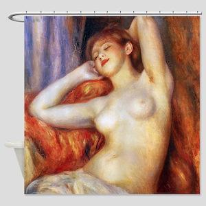 Renoir Sleeping Baigneuse Shower Curtain