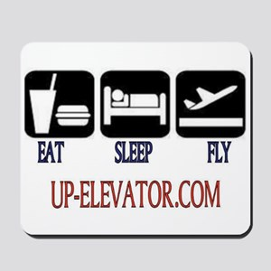 EAT SLEEP FLY Mousepad