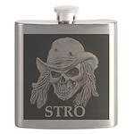 Stro skull Flask
