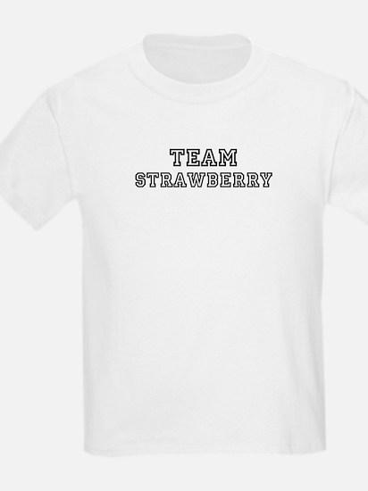 Team Strawberry Kids T-Shirt