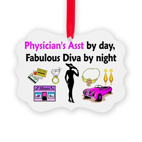 PHYSICIAN ASST Picture Ornament