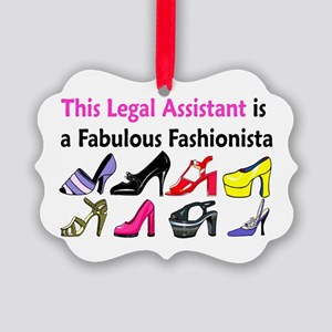LEGAL ASSISTANT Picture Ornament