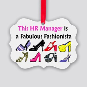 HR MANAGER Picture Ornament