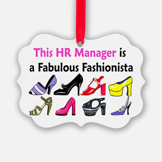 HR MANAGER Ornament