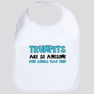 Trumpets Are Awesome Bib