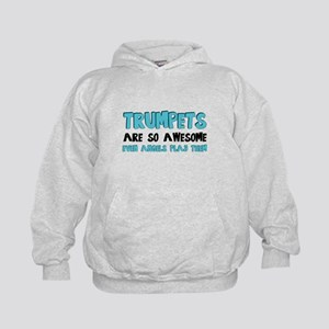 Trumpets Are Awesome Kids Hoodie