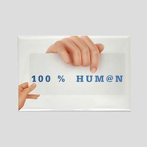 100@HUMAN Rectangle Magnet