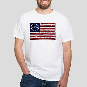 1776_american_flag_old copy T-Shirt