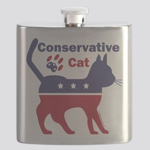 Conservative Cat Introductory Icon Flask