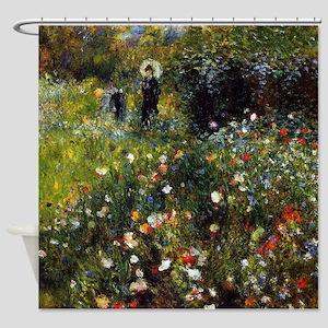 Pierre-Auguste Renoir Summer Landscape Shower Curt