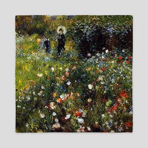 Pierre-Auguste Renoir Summer Landscape Queen Duvet