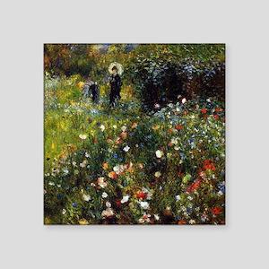 Pierre-Auguste Renoir Summer Landscape Square Stic
