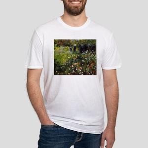 Pierre-Auguste Renoir Summer Landscape Fitted T-Sh