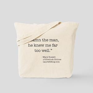 Damn the Man Tote Bag