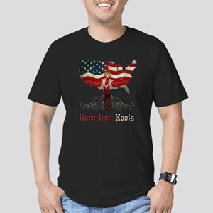 American Northern Irish Roots Men's Fitted T-Shirt