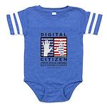 Digital-Citizen Baby Football Bodysuit