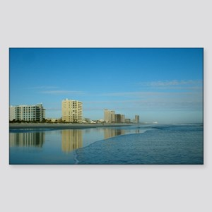 Jax Beach Florida Sticker (Rectangle)