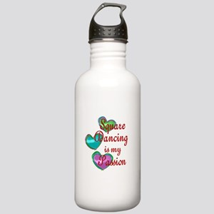 Square Dancing Passion Stainless Water Bottle 1.0L