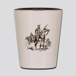 Vintage Viking Shot Glass