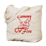 Tammy On Fire Tote Bag
