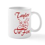 Taylor On Fire Mug