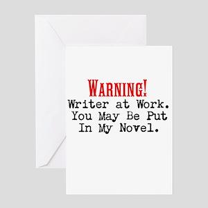 A Novel Threat Greeting Card