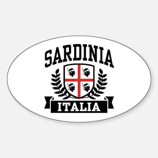 Sardinia Italia Sticker (Oval)