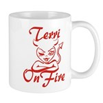 Terri On Fire Mug